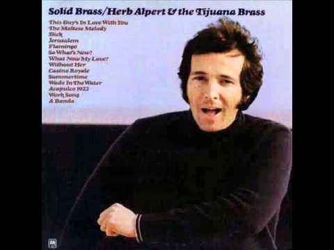 Without Her - Herb Alpert (mono mix)