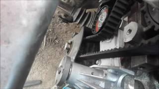 rozrząd ford 1,6 ti benzyna wałki i pasek