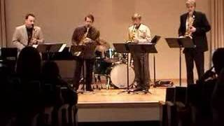 """Gospel Fever!"" - performed by the Hard-Bop Sax Quartet"