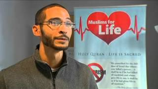 "Ahmadiyya ""Muslims For Life"" blood drive in Rochester NY 2015"