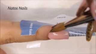 Cómo Aplicar Acrílico Perfectamente en Área de Cutícula | Natos Nails | Técnica de Reversa