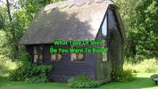Yard Sheds - Shed Design Tips Before You Build Video