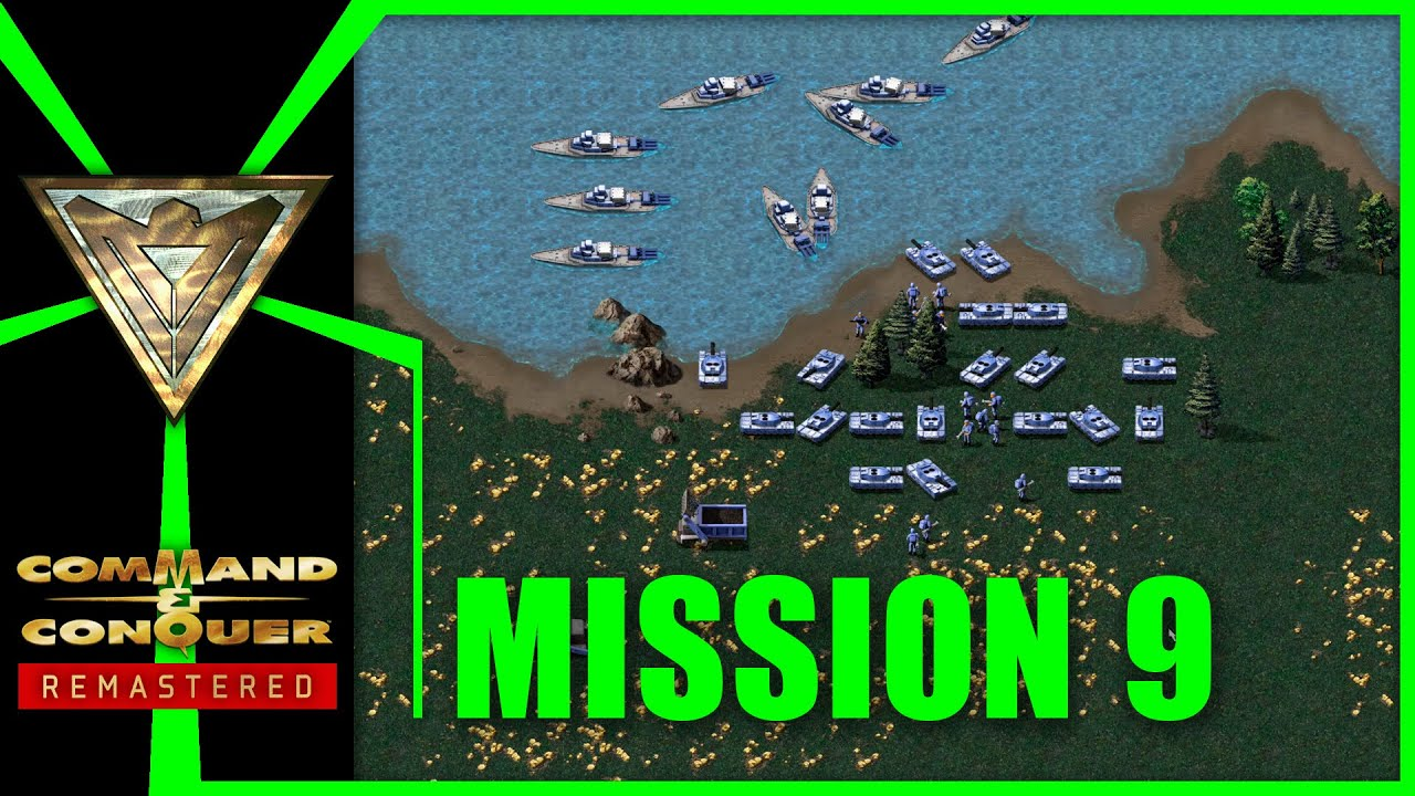 Alliierte 9: Kosygin extrahieren (Norden) | Command & Conquer Remastered: Alarmstufe Rot