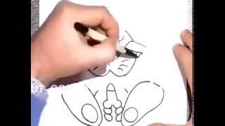 Como desenha Coelho da Páscoa kkkkk