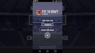 Fut draft movil / 18