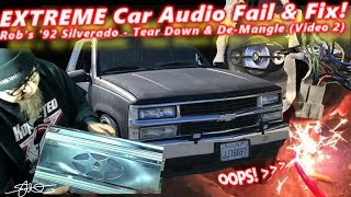 Extreme Car Audio FAIL & Fix -