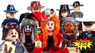 Lego Lone Ranger Minifigures From Sets 79106 79107 79108 79109 79110 79111