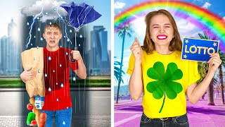 LUCKY VS UNLUCKY || Best Funny Moments In Real Life by 123 GO!