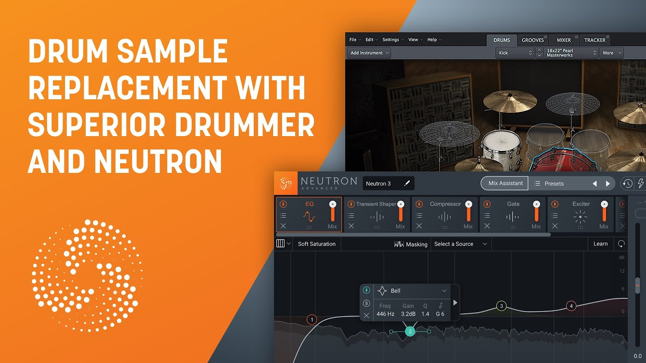 Drum Sample Replacement with Superior Drummer and