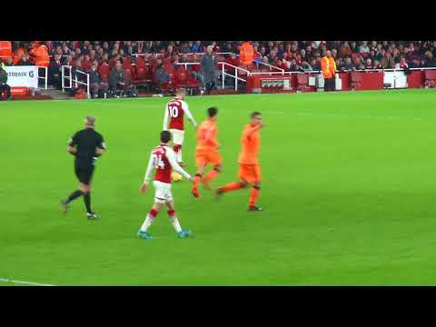Firmino Goal v Arsenal / Amazing Fans View 22 Dec 2017 at The Emirates