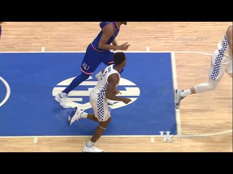 MBB: Kentucky 71, Kansas 63 Highlights