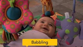 Baby cues that say 'I want to play'
