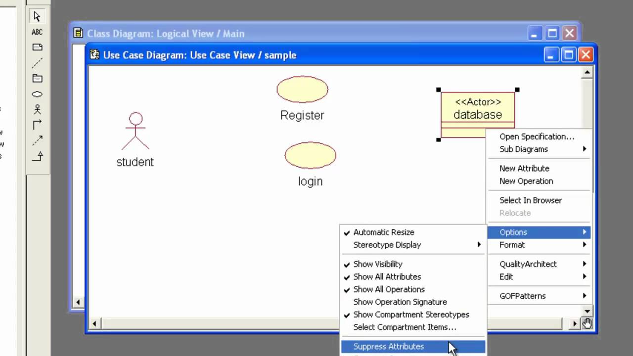 hight resolution of activity diagram main sequence