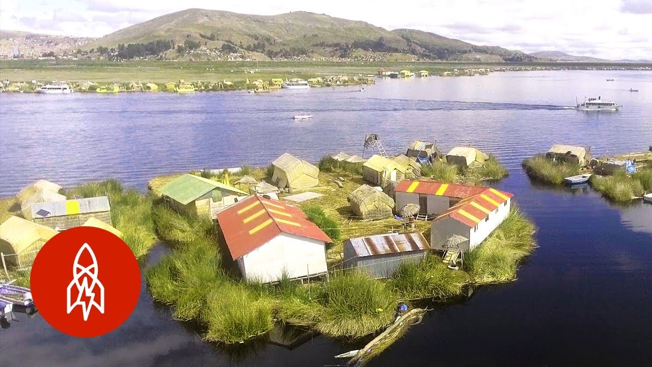 The Man-Made, Floating Islands of Lake Titicaca