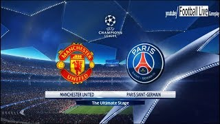 PES 2018 | Manchester United vs PSG | UEFA Champions League (UCL) | Gameplay PC