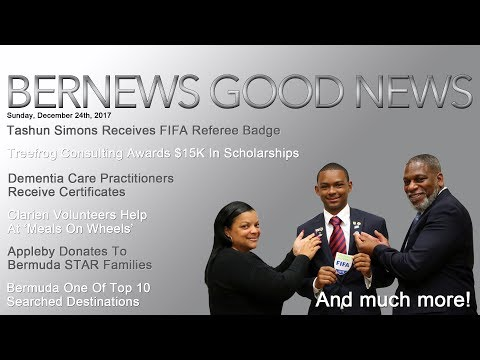 "Bernews ""Good News"" Sunday Spotlight, December 24, 2017"