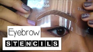 How-To: Use Eyebrow Stencils