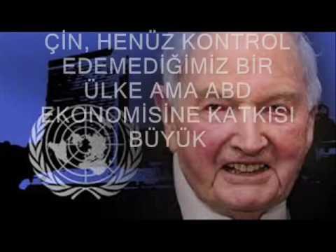 illuminati Üyesi Yahudi David Rockefeller...