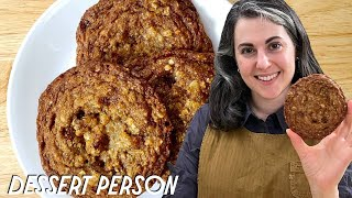 Claire Saffitz Makes The Best Oatmeal Cookies  Dessert Person