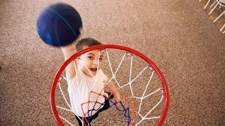 Баскетбол начинается в детском саду