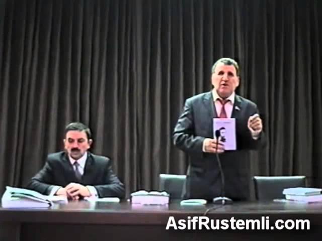 Akademik Isa Hebibbeyli Asif Rustemli haqqinda 19.11.2011