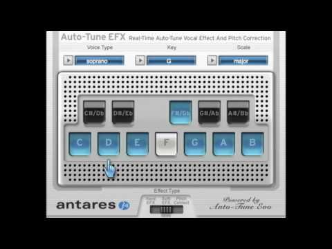 AutoTune 8 Versus AutoTune EFX Comparison