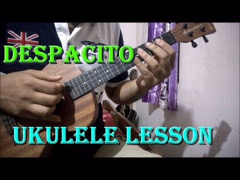 Despacito - Ukulele Chords & Intro Lesson | Justin Bieber, Luis Fonsi, Daddy Yankee