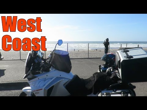Space Needle, Spruce Goose & the West Coast | Cross Country Motorcycle Trip Day 6