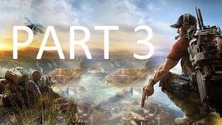 TOM CLANCY'S GHOST RECON: WILDLANDS Walkthrough Gameplay Part 3 - SAN MATEO (Xbox One X)