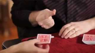 CRAZY Magic 8-Ball card trick by Indianapolis magician Caleb Wiles