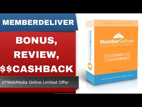 [MemberDeliver Bonus] MemberDeliver Bonus Review and Cashback Discount - Membership Sites - Part 1