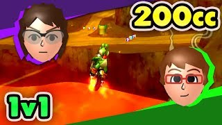 Download Troy vs NMeade 200cc ULTRA SERIOUS 1v1 (Mario Kart Wii CTGP) Mp3 and Videos