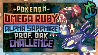 HOW EASILY CAN YOU COMPLETE PROFESSOR OAK'S CHALLENGE IN POKEMON OMEGA RUBY & ALPHA SAPPHIRE?