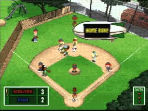 Backyard Baseball Hasbro Plug N Play Youtube