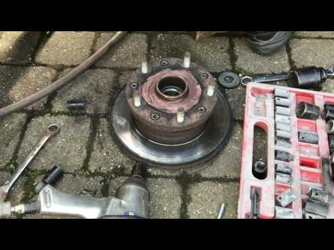 FWD Ford Transit Rear disc Change