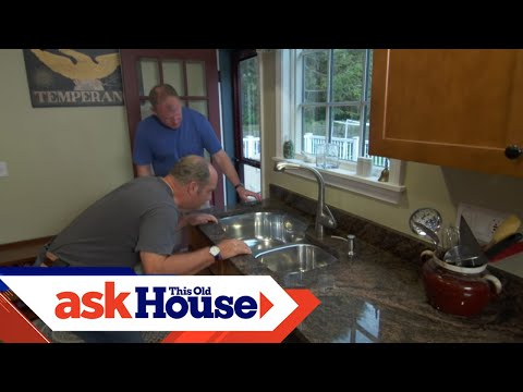 how-to-secure-an-undermount-kitchen-sink-|-ask-this-old-house