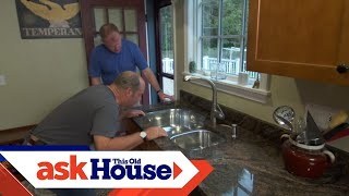 How to Secure an Undermount Kitchen Sink