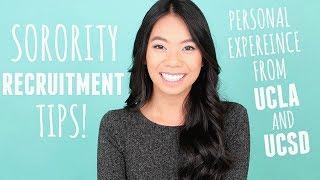 Sorority Recruitment Tips Based On My UCLA & UCSD Rush Experience!