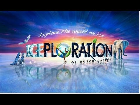 Iceploration Busch Gardens Tampa Bay - Full Show Resort Live