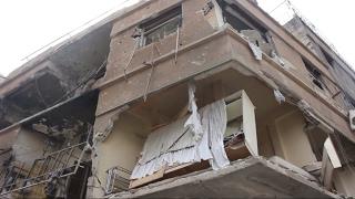 أخبار خاصة - قوات الأسد تستهدف المدنيين في عربين ردا على تقدم فصائل المعارضة في #دمشق