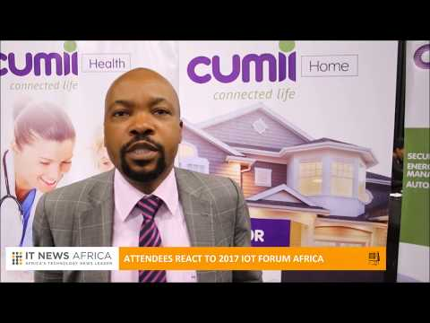 Attendees react to IOT Forum Africa