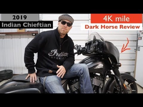 2019 Indian Chieftain Dark Horse Review / After 4k mile ride