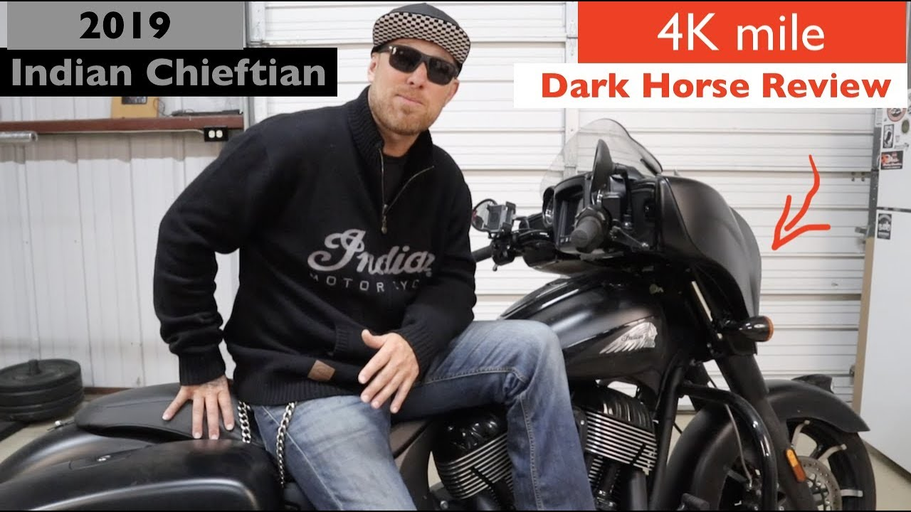 2019 Indian Chieftain Dark Horse Review / After 4k Mile