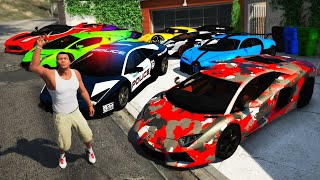 GTA 5 - Collecting RARE & EXPENSIVE Super Cars!