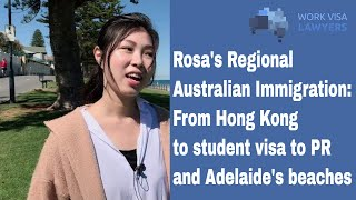 Rosa's Story: From Hong Kong to Adelaide's beautiful beaches