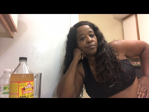Watch How Apple Cider Vinegar  melt this fat. Live 🙄Part 1