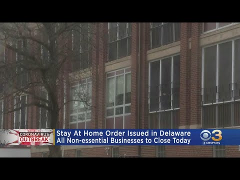Delaware Gov. Carney Issues Stay-At-Home-Order