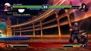 The Final XIII, The King of Fighters XIII Gameplay With the DLC of Destruction Team