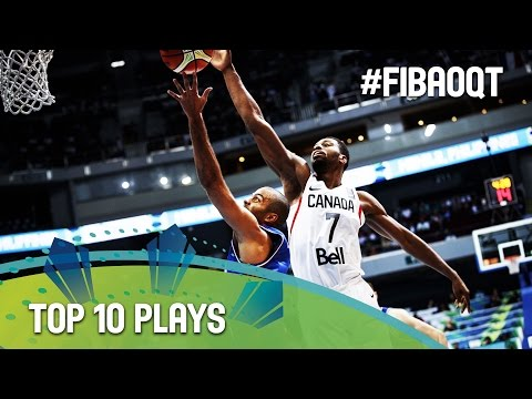 Top 10 Plays - 2016 FIBA Olympic Qualifying Tournament - Manila