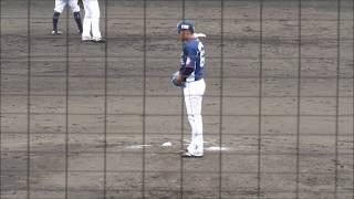 安芸市営球場で撮影。 春季キャンプ練習試合 阪神VS西武より。